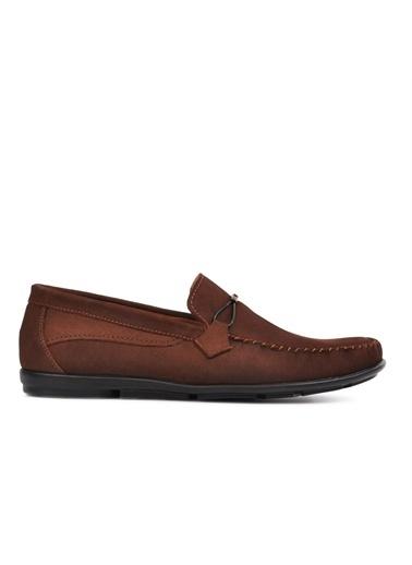 Ayakmod 488 Kahve Nubuk Hakiki Deri Erkek Günlük Ayakkabı Kahve